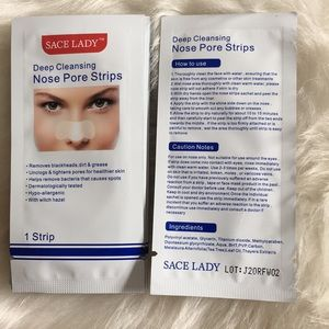 Other - Ⓜ️10 pc deep cleansing nose pore strips